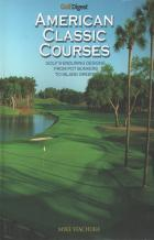 golf digest american classic courses book cover