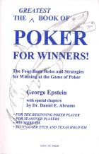 greatest book of poker for winners book cover