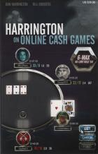 harrington on online cash games 6max nolimit holdem book cover