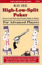 highlowsplit poker for advanced players book cover