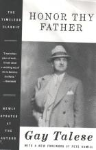 honor thy father book cover