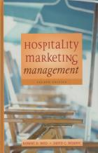 hospitality marketing and management book cover