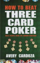 how to beat three card poker book cover