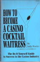 how to become a casino cocktail waitress book cover