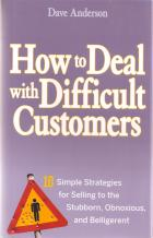 how to deal with difficult customers hardcover book cover