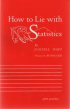 how to lie with statistics book cover