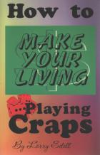 how to make your living playing craps book cover