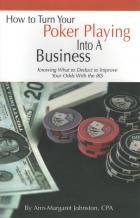 how to turn your poker playing into a business book cover