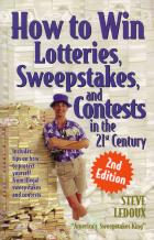 how to win lotteries sweepstakes and contests book cover