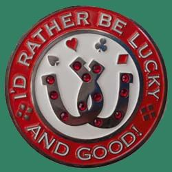 id rather be lucky and good spinner book cover