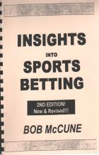 insights into sports betting book cover