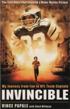 invincible my journey from fan to nfl team captain book cover