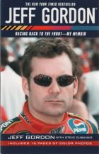 jeff gordon racing back to the front my memoir book cover