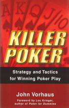 killer poker strategy and tactics for winning poker play book cover