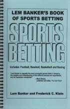 lem bankers book of sports betting book cover