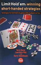 limit holdem winning shorthanded strategies book cover