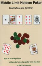 middle limit holdem poker book cover
