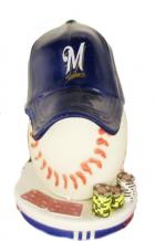 milwaukee brewers card protector book cover