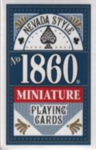 mini playing cards book cover