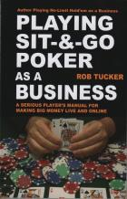 playing sitgo poker as a business book cover