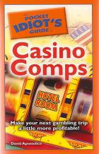 pocket idiots guide to casino comps book cover