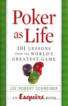 poker as life 101 lessons hardcover book cover