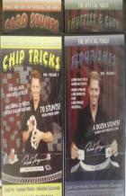 poker complete chip  card handling series 4 dvds book cover
