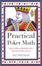 practical poker math odds probabilities holdem  omaha book cover