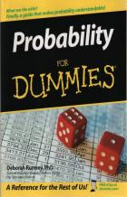 probability for dummies book cover