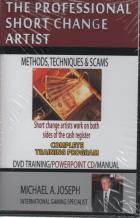 professional short change artist methods  scams book cover
