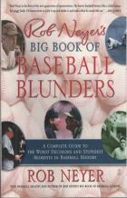 rob neyers big book of baseball blunders book cover