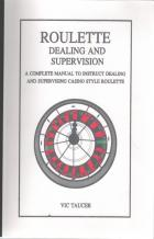 roulette dealing  supervising book cover