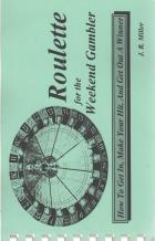 roulette for the weekend gambler book cover
