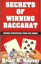 secrets of winning baccarat book cover