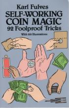 selfworking coin magic book cover