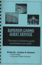 superior casino guest service book cover
