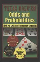texas holdem odds and probabilities  strategies book cover