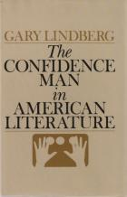 the confidence man in american literature book cover