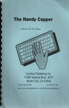 the handy capper book cover