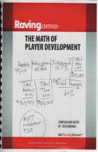 the math of player development book cover