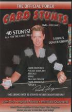 the official poker card stunts vol i book cover