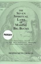 the seven spiritual laws of making big bucks book cover