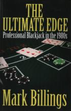 the ultimate edge professional blackjack in the 1980s book cover
