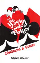 the wacky side of poker cardtoons  quotes book cover