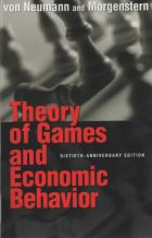 theory of games  economic behavior book cover
