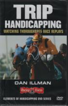 trip handicapping watching thoroughbred replays dvd book cover