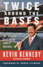 twice around the bases thinking fans inside look baseball book cover