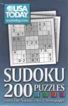 usa today sudoku 200 puzzles book cover
