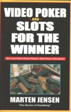 video poker and slots for the winner book cover