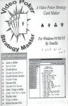 video poker strategy master book cover
